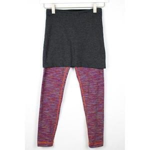 4ca158f190 lululemon athletica Pants - Lululemon Yin to You Skirted Crop Legging Size 2